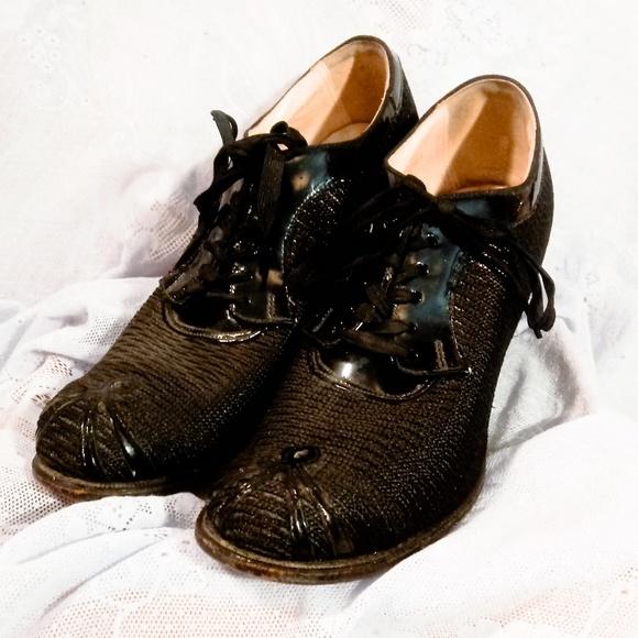 Vintage 194s Mesh Oxford Swing Granny